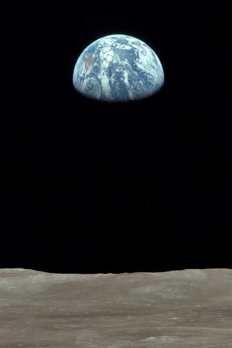 erde mond astronomie earthrise wallpaper allwallpaperin