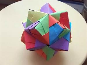 Origami Boule De Noel : origami boule de noel tuto origami boule de noel boules origami atelier un je ne sais quoi d ~ Farleysfitness.com Idées de Décoration