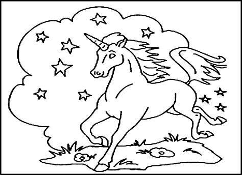 37 Best And Free Printable Unicorn Coloring Pages