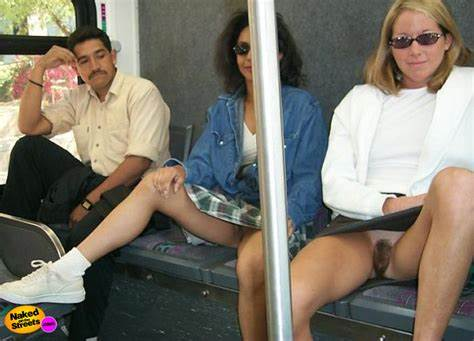 Too Brunette In The Subway Threesomes Cuties Reveals Their Pussies In A Subway