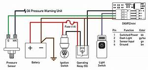 Fa 6184  Oil Pressure Sender Switch Schematic Schematic