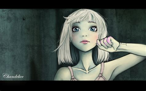 maddie ziegler chandelier by criis chan on deviantart