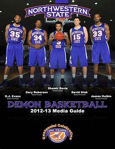 2012-13 Men's Basketball Media Guide by Northwestern State ...