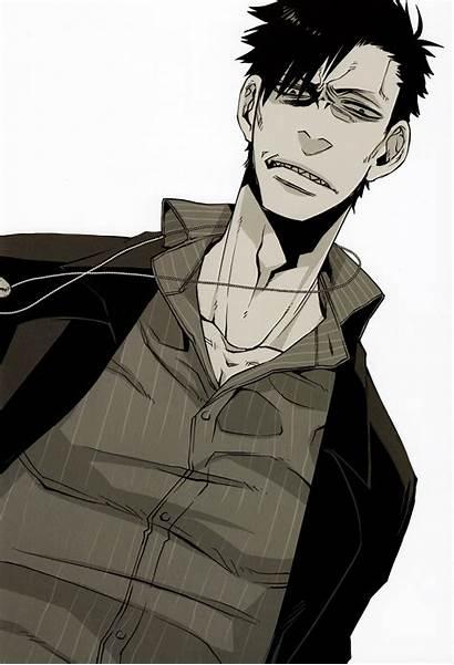 Gangsta Anime Brown Nicolas Nicholas Manga Wikia