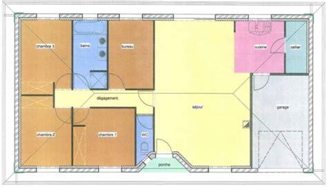 plan maison 3 chambres 1 bureau immo 33 fr tag le teich