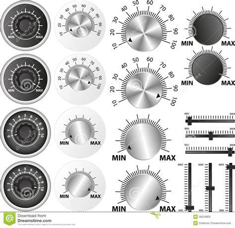 potentiometer stock  image