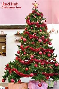 Red Hot Theme Christmas Tree Christmas Tree Themes