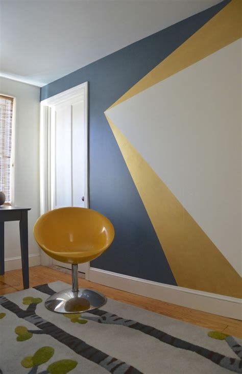 geometric wall painting ideas   fun