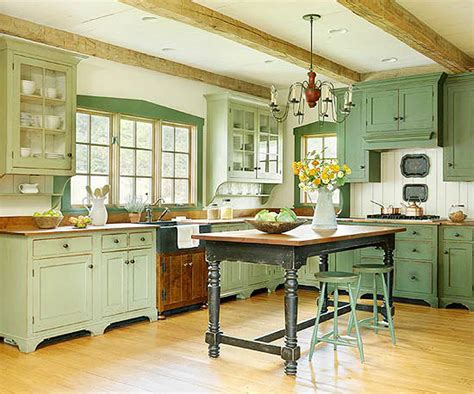Green Kitchens : Create Your Own Farmhouse Kitchen