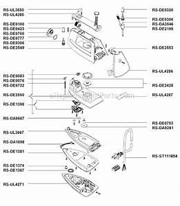 Rowenta De811 Parts List And Diagram   Ereplacementparts Com