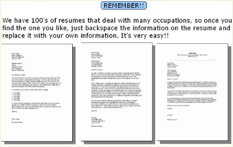 Curriculum Vitae Closing Statement by Resume Cover Letter Sles 100 Free Cover Letter