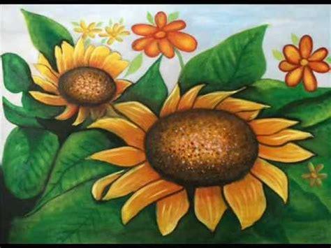 curso de pintura al oleo flores 1