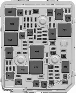 Fuse Box Diagram Chevrolet Trailblazer  2020