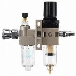 150psi Manual Pneumatic Air Pressure Filter Regulator