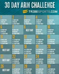 30-Day Arm Workout Challenge
