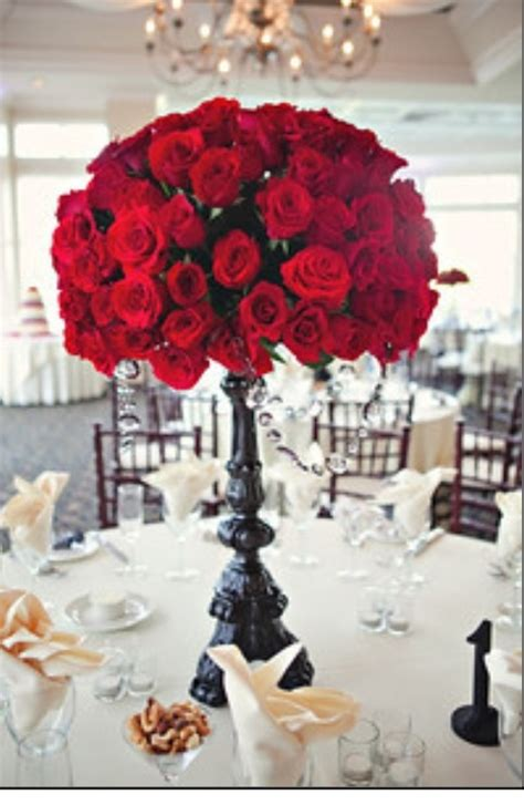 roses centerpieces ideas red roses centerpiece for wedding wedding ideas pinterest rose centerpieces wedding and