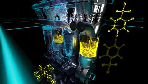 Lab Scientists Optimizing High Performance Fuels For