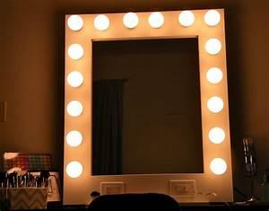 Ikea Hollywood Mirror With Lights Mirror With Light Bulbs Ikea Home Design Ideas Lighted