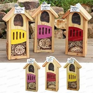 Nichoir A Insecte : hotel insectes couleur maisons abris animaux ~ Premium-room.com Idées de Décoration