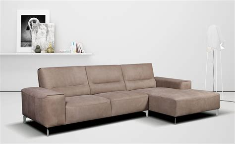 spagnesi italian leather sofa small studio apartment size sectional with optional