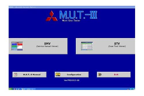 mitsubishi mut iii baixar de software