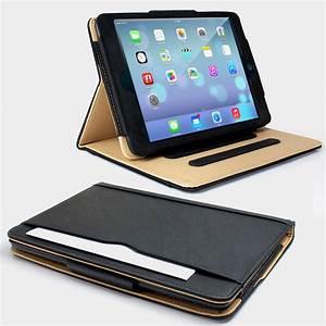 Ipad Mini 2 Case : black tan leather wallet smart flip case cover for the ~ Jslefanu.com Haus und Dekorationen