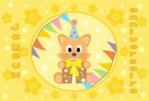 Carte Anniversaire Pour Enfant : cartes virtuelles enfant joyeux anniversaire joliecarte ~ Melissatoandfro.com Idées de Décoration