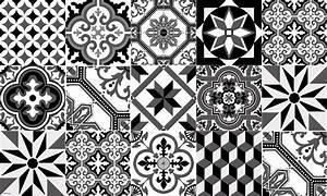 Faire Briller Des Carreaux De Ciment : tapis vinyle carreaux de ciment ginette noir ~ Melissatoandfro.com Idées de Décoration