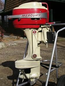 Mercury Outboard Motor Circa 1950 U0026 39 S