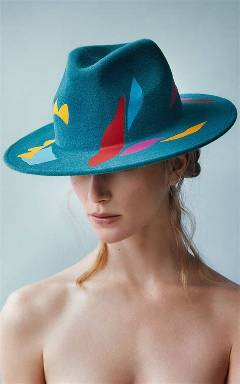 design a hat matisse inspired hat design collection fubiz media