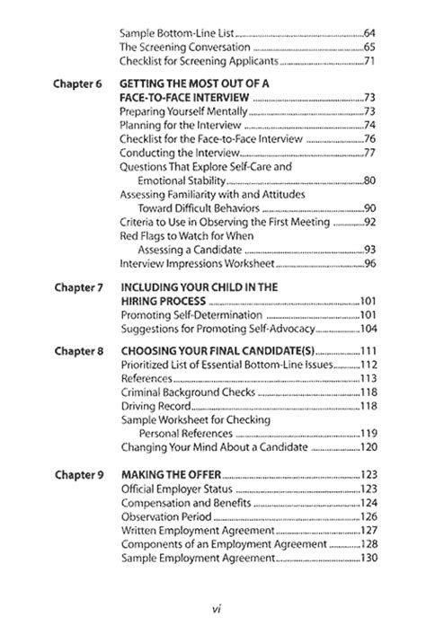 table of contents sle lisa a lieberman msw table of contents 2