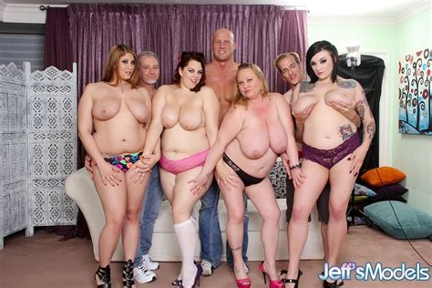 Blonde Plumper Sienna Hills Goes Wild In A Fatgirl Orgy