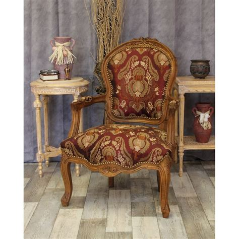 fauteuil cabriolet style louis xv nayar