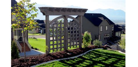 Trellises And Arbors by Arbors And Trellises Timber Kits Western Timber Frame