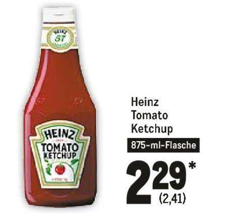 Heinz Tomato Ketchup Angebot bei METRO