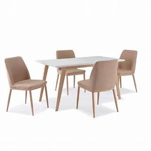 TABLE 4 CHAISES SCANDINAVE YETA Achat Vente Table A