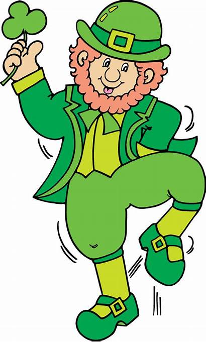 Leprechaun Clipart Clip Patrick Patricks Duendes Month