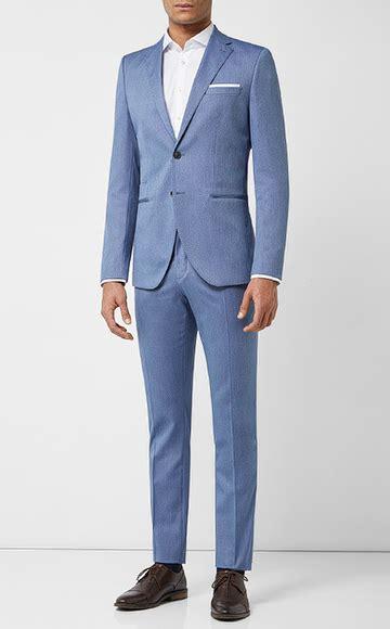 blauer anzug hellblaue dunkelblaue anzuege  kaufen