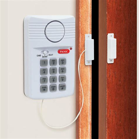 Shed Alarm Systems by New Wireless Door Alarm For Shed Garage Caravan Security