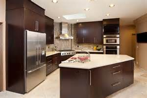 kitchen island and breakfast bar 44 kitchens with wall ovens photo exles