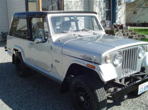 1970 jeep commando buy used 1970 jeepster commando v6 225 instant classic