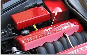 C6 Corvette Custom Painted Battery Cover