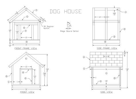 woodwork plans  wood dog house  plans