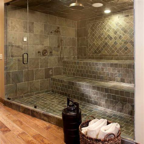 creative bathroom ideas bloombety shower tile designs ideas with rattan basket 5
