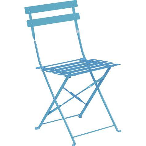 castorama chaise de jardin chaise de jardin en acier flore bleu leroy merlin