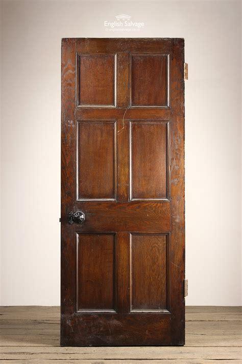 antique oak  panel door