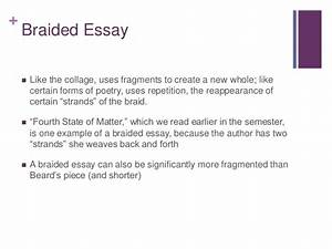 braided essay examples