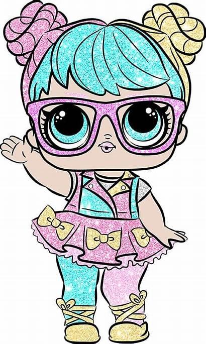 Lol Doll Glitter Bonbon Cutout Surprise Character