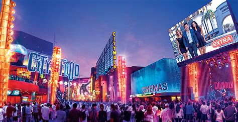 Universal Hollywood Citywalk Getting Refreshed With New
