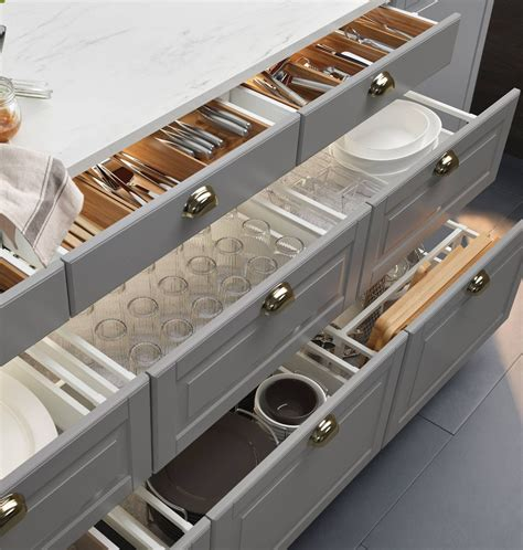 Kitchen Drawers by Why You Should Choose Drawers Cabinets In Your